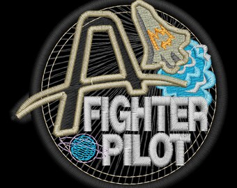 Fighter Pilots Station Badge
