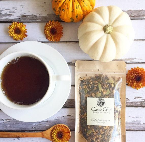 Organic Chai Tea / Darjeeling / Cardamon / Cinnamon / Ginger Root / Clove /Vanilla Bean / Chai Latte / Oregon Chai - Tea Lovers