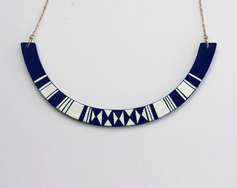 HALO Necklace Milky way Blue