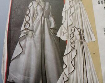 McCalls 4997 sz 14 to 20 Uncut Renaissance Dress Pattern