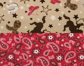 Personlaized Minky Blanket Cuddle Baby Gift Shower Gift in Bandana Red Print Minky