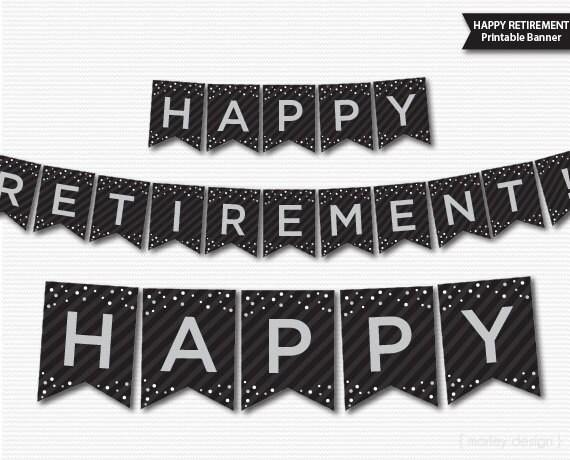 Gallery For Retirement Banner Design