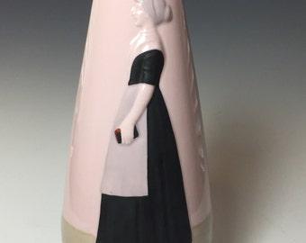 Wonderfully Rare Gebruder Heubach Vase