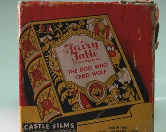 8 MM movie, The Dog Who Cried Wolf, A Fairy Tale Fable, 1960s