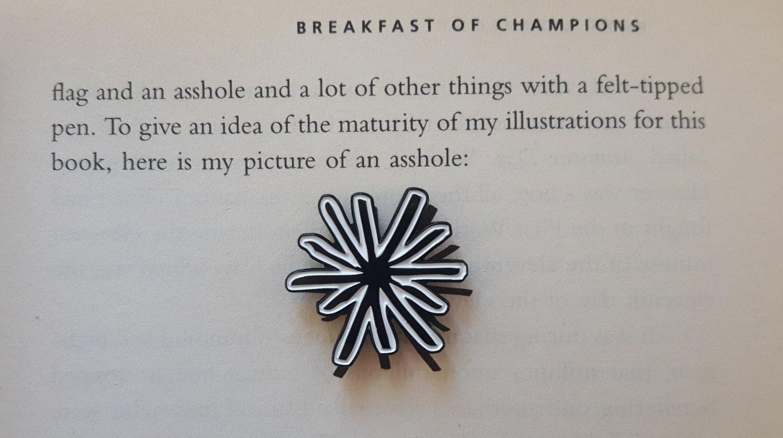Kurt vonnegut asshole