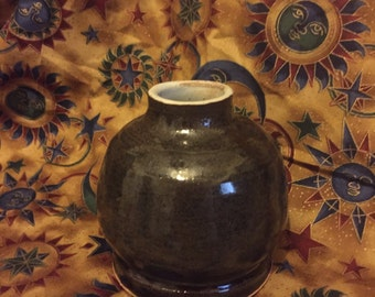 Ceramic bottle, pottery