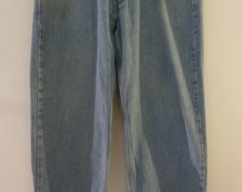 "Vintage Levi Jeans Relaxed Fit 550 36""/30"" Light Wash 100% Cotton"