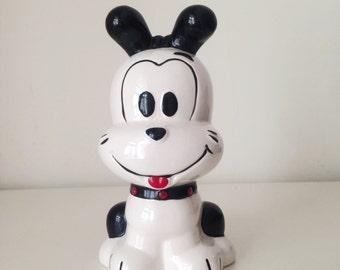 Vintage Ceramic Puppy Figurine