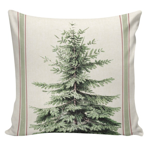 Cushion Cover, Christmas Pillows, Christmas Pillow Covers, Couch Pillows, Throw Covers, Sofa Pillows, Made in USA, Burlap Pillows, #EHD0139