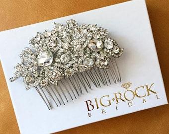 Rhinestone Wedding Hairpiece