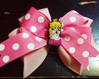 Princess Peach Bow