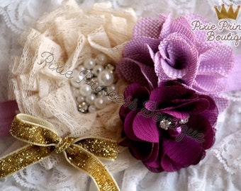 Pirouette - Headband, Baby Headband, Photography Prop, Couture Headband, Hair Clip,