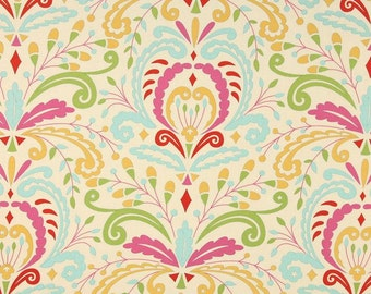 Sujata fabric in Pink - Kumari Garden by Deena Designs
