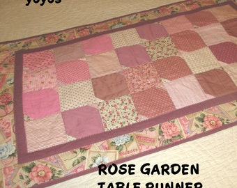 ROSE GARDEN TABLE Runner Home Décor Gift Item