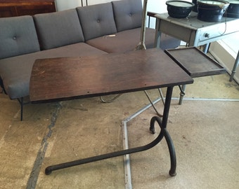 Vintage French Industrial Desk Table