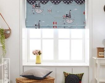 Custom Roman Shade Windows Curtain Custom Roman Blind
