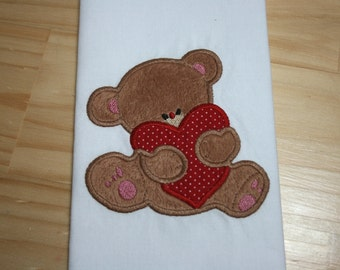 Bears In Love 11_ Applique Design