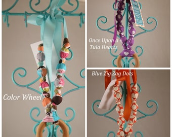 Chomp Teething & Nursing Necklace with Ring - Made to Match Tula Baby Carriers