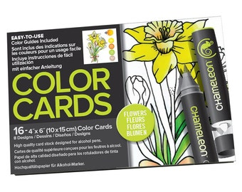 Chameleon Color Cards - Flowers