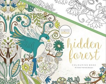 KaiserColour Hidden Forest Coloring Book