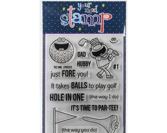 Your Next Stamp Tee Time