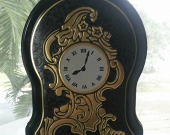 Tin/Vintage/Tea Party/After Eight Clock Shaped/Product of England/Collectable/Prop
