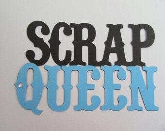 SCRAP QUEEN Paper Die Cut