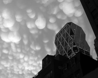 Clouds over Hearst Tower ll, NYC 2009