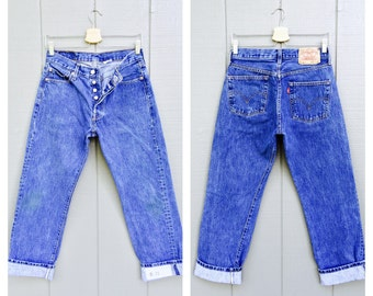 Levi&39s High Waisted Jeans / Womens Size 16 36W / by BaileyRayandCo