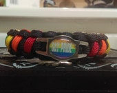 Gay Pride Paracord Bracelet - FREE SHIPPING