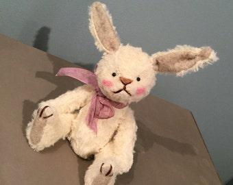 Clara - One of a Kind Miniature Artist Bear (Bunny)
