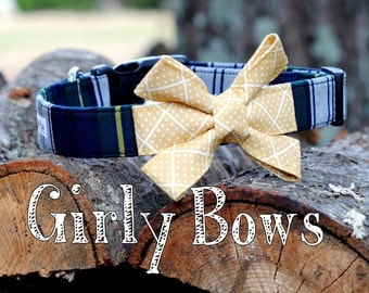 Girly Bow - please note the color/pattern of your bow at checkout!