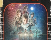 Stranger Things Vintage Book Cover Poster 11x17""