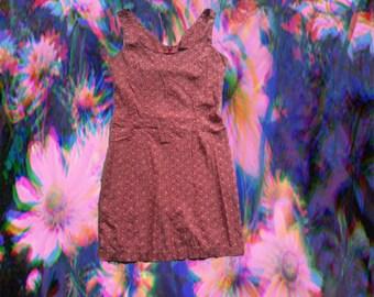 90s Express Floral Shift Dress
