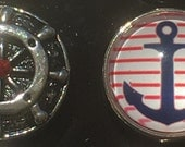 Nautical Snap Charms