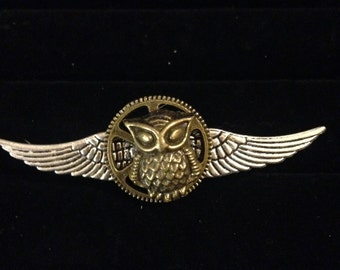 Steampunk Wing Pin