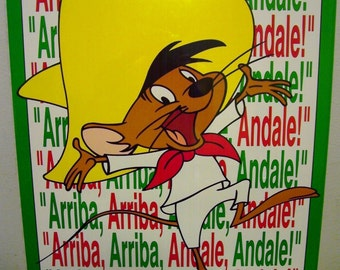 "Speedy Gonzalez 1992 Vintage Poster 22""x 28"" New in shrinkwrap"