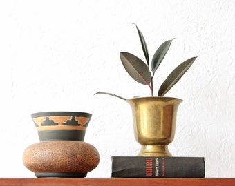 Mexican Urn Folk Art Pottery