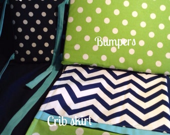 BUMPERS/CRIB SKIRT
