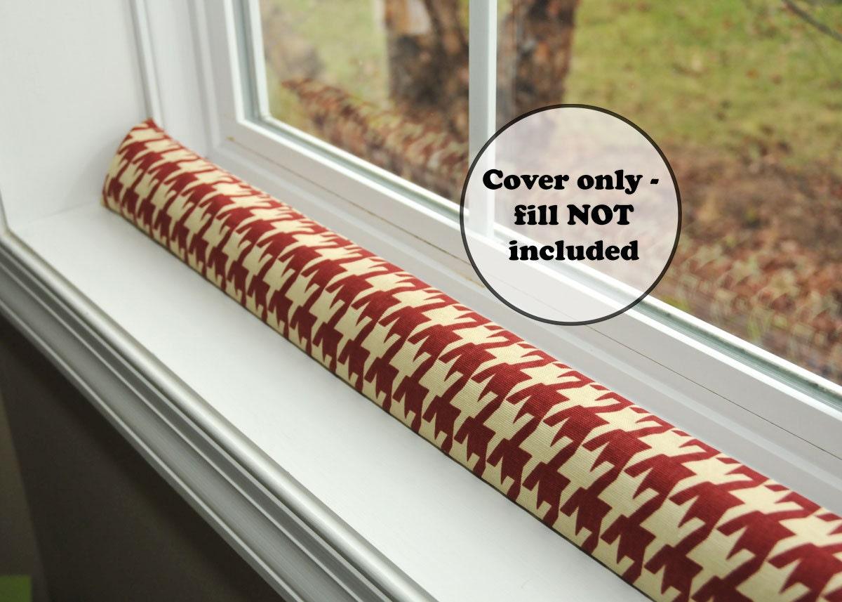 Custom Size Door Draft Dodger Cover Empty Extra Long Window