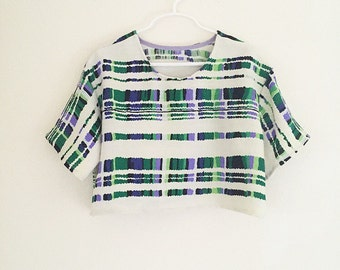 Lovely Girls Boxtop/Crop top/Spring top/Vintage Top