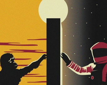 2001: a Space Odyssey - Poster Print