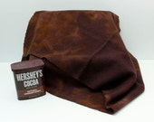 Chocolate Brown Hand Dyed Wool for Rug Hooking and Wool Applique