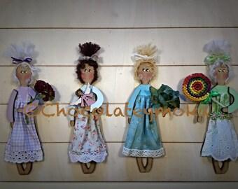 """Mariucas de """"Chocolate y Moka"""" Custom"""