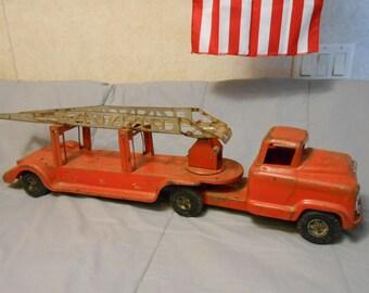 1950's Buddy-L  GMC Fire-Truck