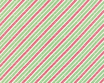 Moda North Woods Garland in Cranberry Pine - 27248 21 - Kate Spain - 1 yard