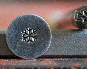 Snowflake Stamp Perfect for Metal Stamping and Metal Design Work  SGA-53