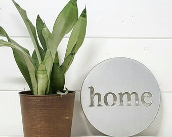 10 inch home sign