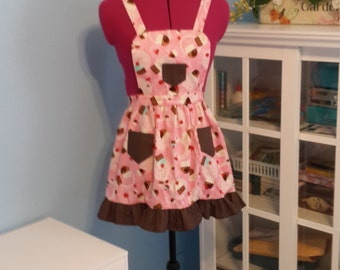 Cupcakes and Cherries Apron
