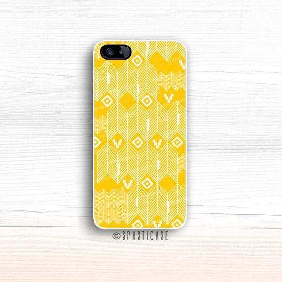 iPhone 6S Case, Aztec iPhone 5S Case, iPhone Case Yellow Aztec, iPhone 6 Plus, Geometric iPhone 6 Case, iPhone 5C Case, iPhone 5 Case,